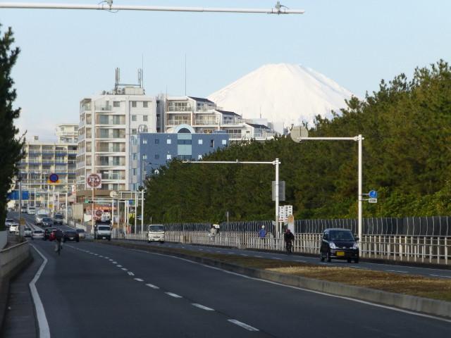 今日は富士山くっきり